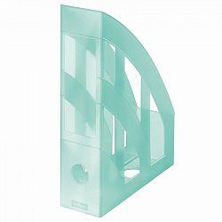 suport-dosare-plastic-a4-herlitz-clasic-turcoaz-transparent