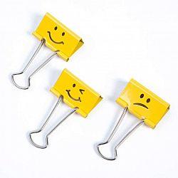 clipsuri-hartie-19-mm-20-buc-cutie-rapesco-emoticon-galben