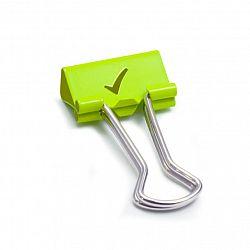 clipsuri-hartie-19-mm-80-buc-cutie-rapesco-verde