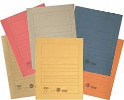 Dosar carton plic diverse culori Elba, gri