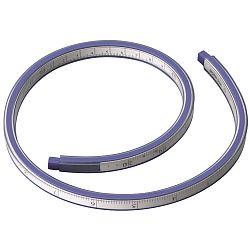 rigla-flexibila-din-plastic-30cm-pentru-desenat-suprafete-curbe-alco-alb-albastru