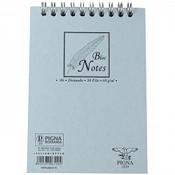 bloc-notes-cu-spira-a6-pigna-basic-50-file-dictando