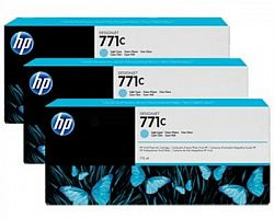 tripack-cartus-light-cyan-nr-771c-b6y36a-3x775ml-original-hp-designjet-z6200
