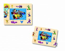 mickey-oi-pilo-oii-de-curse-puzzle-cu-tinte-16-piese