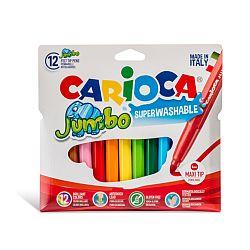 carioca-super-lavabila-varf-gros-6mm-12-culori-cutie-carioca-jumbo