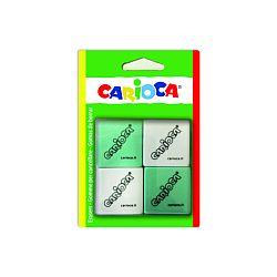 radiere-patrate-4-buc-blister-carioca-alb-verde