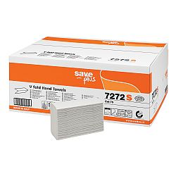 Rezerva prosoape pliate, Celtex 7272S, 2 straturi, alb, 200 buc/pachet