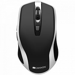 mouse-wireless-canyon-cns-cmsw19b-usb-1600-dpi-negru