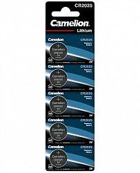 baterii-camelion-lithium-cr2025-3v-5-buc-blister