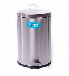 cos-gunoi-limpio-cx1-5l-inox-lucios