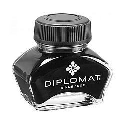 calimara-cu-cerneala-30ml-diplomat-neagra