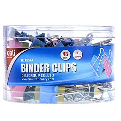 clipsuri-hartie-25-mm-48-buc-cutie-deli-culori-pastelate