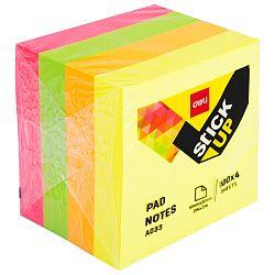cub-notes-autoadeziv-51-x-51mm-4-culori-neon-400-file-deli