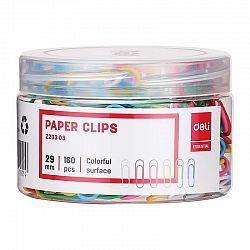 agrafe-birou-29-mm-deli-color-100-buc-cutie