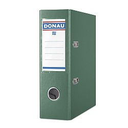 biblioraft-a5-plastifiat-pp-margine-metalica-75-mm-donau-verde