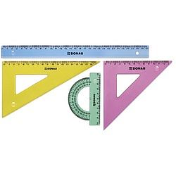 set-geometrie-mare-contine-rigla-30cm-raportor-echer-13cm-si-echer-19cm-donau-transparent