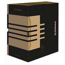 cutie-arhivare-200-mm-carton-390gsm-donau-negru-kraft