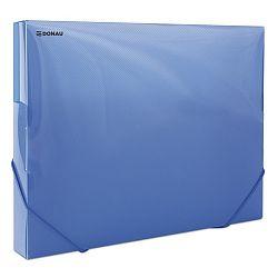 mapa-din-plastic-cu-elastic-pe-colturi-latime-30mm-700-microni-donau-albastru-transparent