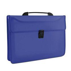 servieta-din-plastic-pp-cu-2-compartimente-cu-inchidere-si-maner-donau-albastru-transparent