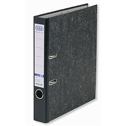biblioraft-a4-margine-metalica-50mm-elba-smart-marmorat-cu-cotor-negru