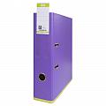 biblioraft-a4-plastifiat-pp-pp-80-mm-elba-mycolour-violet-deschis-verde-deschis