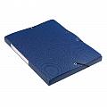mapa-din-plastic-cu-elastic-25mm-latime-elba-memphis-albastru