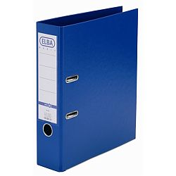biblioraft-a4-plastifiat-pp-pp-margine-metalica-80-mm-elba-smart-pro-albastru