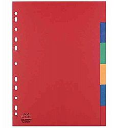 separatoare-carton-color-a4-xl-225g-mp-6-culori-set-elba
