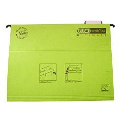 dosar-suspendabil-cu-eticheta-bagheta-metalica-carton-330g-mp-elba-verticflex-ultimate-verde