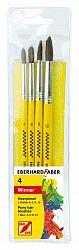 set-4-pensule-nr-4-6-8-12-varf-rotund-eberhard-faber