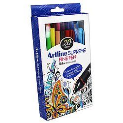 liner-artline-supreme-varf-fetru-0-4mm-10-culori-set
