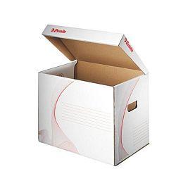 container-pentru-depozitare-cu-capac-esselte-alb