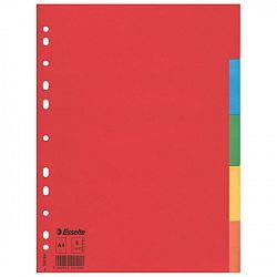 separator-a4-esselte-economy-din-carton-reciclat-11-perforatii-5-culori
