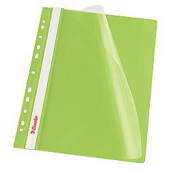 dosar-a4-din-plastic-cu-sina-si-11-multiperforatii-esselte-verde