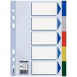 separator-esselte-din-plastic-163-x-210-mm-11-perforatii-5-culori