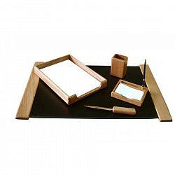 set-birou-5-piese-culoare-lemn-stejar