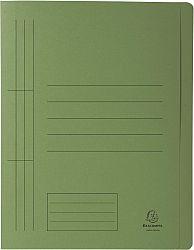 dosar-a4-carton-cu-sina-exacompta-verde