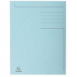 dosar-a4-carton-tip-plic-exacompta-albastru