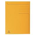 dosar-a4-carton-tip-plic-exacompta-portocaliu