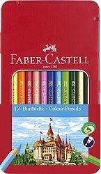 creioane-colorate-12-culori-cutie-metal-2-faber-castell