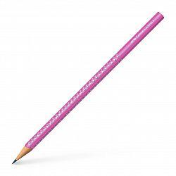 creion-grafit-grip-sparkle-2018-faber-castell-roz