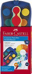 acuarele-12-culori-connector-albastre-faber-castell