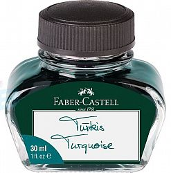 calimara-cu-cerneala-faber-castell-30-ml-turcoaz