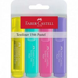 textmarker-faber-castell-1546-varf-tesit-1-5-mm-4-culori-pastel-set
