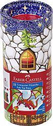 carioca-18-culori-castel-connector-faber-castell