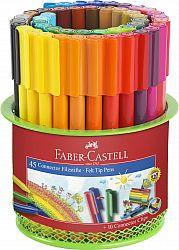 carioca-45-culori-connector-suport-mesh-faber-castell