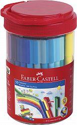 carioca-50-culori-connector-borcan-faber-castell