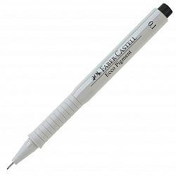 liner-cu-capilarii-faber-castell-ecco-pigment-0-10-mm-negru