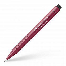 liner-cu-capilarii-faber-castell-ecco-pigment-0-50-mm-rosu