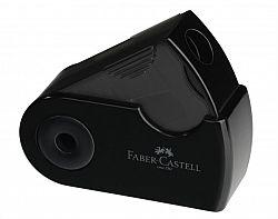 ascutitoare-simpla-cu-rezervor-faber-castell-sleeve-negru